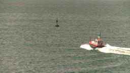 HD2008-8-13-45 pilot boat Stock Video Footage