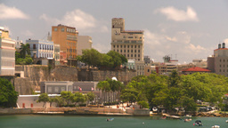 HD2008-8-13-47 San Juan from ocean Stock Video Footage