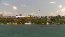 HD2008-8-13-49 San Juan from ocean Stock Video Footage