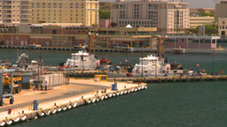 HD2008-8-14-1 San Juan harbor Stock Video Footage