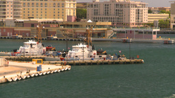 HD2008-8-14-1 San Juan harbor Stock Video Footage