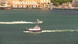 HD2008-8-14-5 San Juan boats in harbor Stock Video Footage