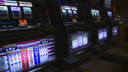 HD2008-8-14-7 casino machines Stock Video Footage