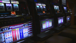 HD2008-8-14-7 casino machines Stock Video Footage