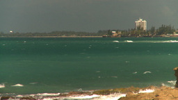 HD2008-8-14-15 San Juan beach Stock Video Footage