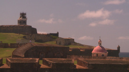 HD2008-8-14-27 San Juan fort Stock Video Footage