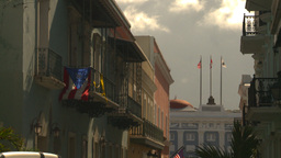 HD2008-8-14-33 San Juan old town Stock Video Footage