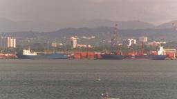 HD2008-8-14-47 San Juan harbor Stock Video Footage
