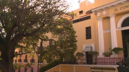 HD2008-8-14-53 San Juan old town buildings Stock Video Footage