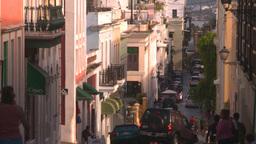 HD2008-8-14-59 San Juan old town buildings Stock Video Footage