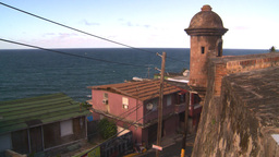 HD2008-8-14-63 San Juan old town ghette Stock Video Footage