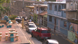 HD2008-8-14-65 San Juan old town ghetto Stock Video Footage