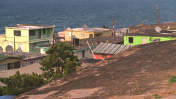 HD2008-8-14-67 San Juan old town ghetto Footage