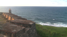 HD2008-8-14-78 San Juan old town fort Stock Video Footage