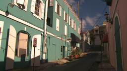 HD2008-8-15-16 StThomas old town Stock Video Footage