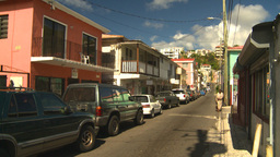 HD2008-8-15-24 StThomas old town Stock Video Footage
