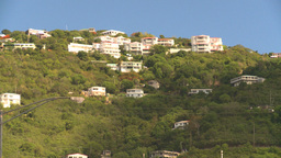 HD2008-8-15-30 StThomas old town hillside Footage
