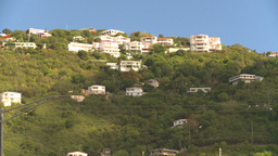 HD2008-8-15-30 StThomas old town hillside Stock Video Footage