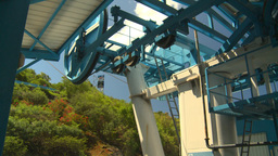 HD2008-8-15-40 StThomas gondola gears Stock Video Footage
