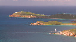HD2008-8-15-51 StThomas islands oceans Stock Video Footage