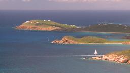 HD2008-8-15-51 StThomas islands oceans Stock Video Footage
