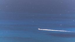 HD2008-8-15-54 StThomas motorboat ocean Stock Video Footage