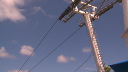 HD2008-8-15-58 StThomas gondola gears Stock Video Footage