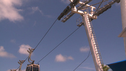 HD2008-8-15-58 StThomas Gondola Gears stock footage