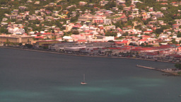 HD2008-8-15-60 StThomas harbor Stock Video Footage