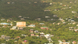 HD2008-8-16-5 StThomas hillside Stock Video Footage