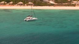 HD2008-8-16-12b Turks ocean blue water sailboat Stock Video Footage