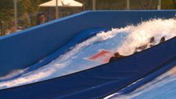 HD2008-8-16-20 Turks man on surf machine Footage
