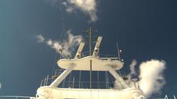 HD2008-8-17-4 ship radar Stock Video Footage