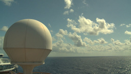 HD2008-8-17-8 radar dome Stock Video Footage