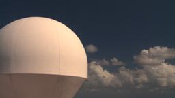 HD2008-8-17-10 radar dome Stock Video Footage