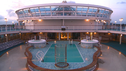 HD2008-8-17-26 empty ship pool Stock Video Footage