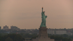 HD2008-8-17-38 statue liberty Footage