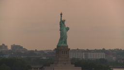 HD2008-8-17-38 statue liberty Stock Video Footage