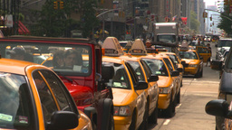 HD2008-8-17-44 NYC txi cabs Footage