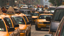 HD2008-8-17-46 NYC txi cabs Footage