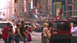 HD2008-8-17-52 NYC traffic Manhattan Footage