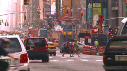 HD2008-8-17-52 NYC traffic Manhattan Stock Video Footage