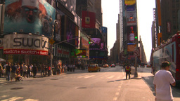HD2008-8-17-58 NYC traffic times square Footage