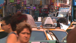 HD2008-8-18-4 NYC traffic Stock Video Footage