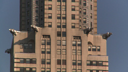 HD2008-8-18-17 NYC chrysler bdg 2 shot Footage