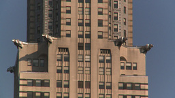 HD2008-8-18-17 NYC chrysler bdg 2 shot Stock Video Footage