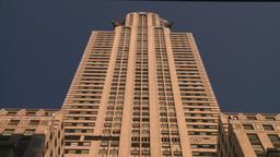HD2008-8-18-27 NYC chrysler bdg Stock Video Footage