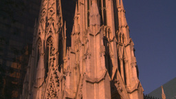 HD2008-8-18-29 NYC old church Stock Video Footage