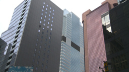 HD2008-8-19-4 buildings Times square Stock Video Footage