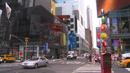HD2008-8-19-6 Times square Stock Video Footage